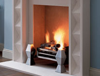 The Avignon Stone Fireplace