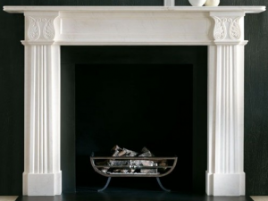 Acanthus fireplace