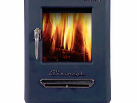 Alpine 4 series 4kw wood burning stove