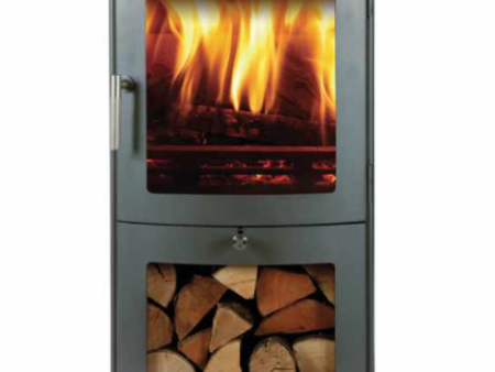 Milan 4 Series 4kw wood burning stove