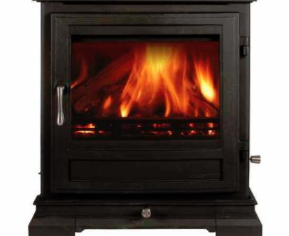 Shipton 8 Series 8kw multifuel stove