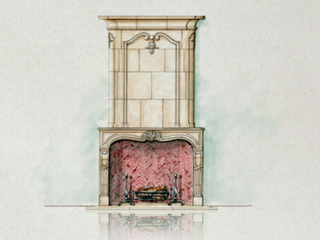 The Blois fireplace