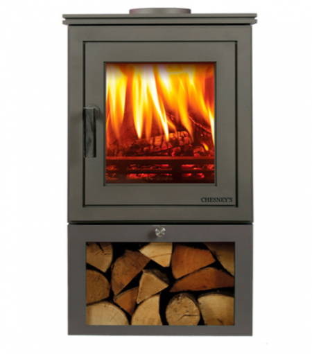Shoreditch LS 4 Series 4kw wood burning stove