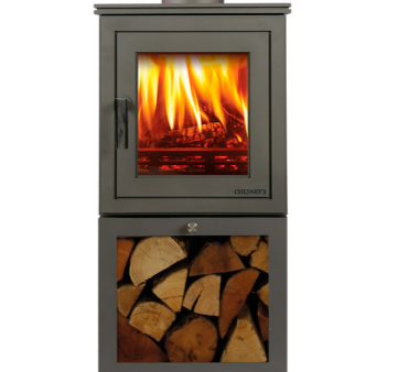 Shoreditch XLS 4kw wood burning stove