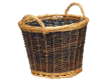 Log Basket Duo Tone (Small)