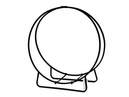 Log Circle (Black)
