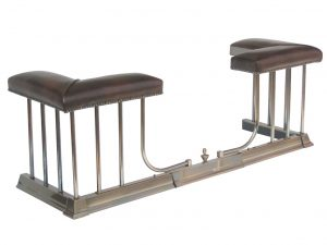 Regent Club – Antique fireplace fender