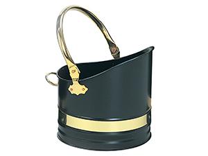 Warwick Helmet - Black-Brass - 24