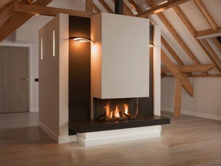Gazco Studio Slimline Steel 2 Gas fire - Zigis Fireplaces