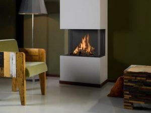 Gazco Studio Slimline Glass Gas fire - Zigis Fireplaces