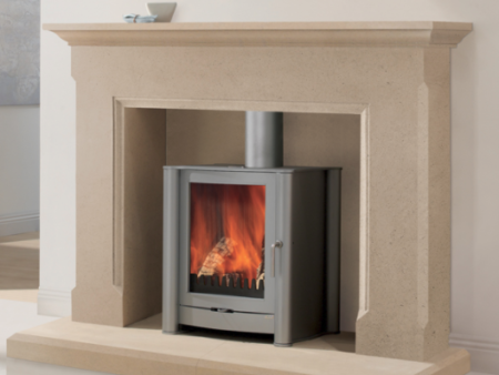 Ashton stone fireplace