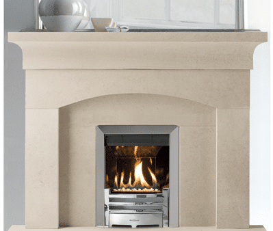 Hadleigh stone fireplace