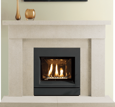 Hereford stone fireplace