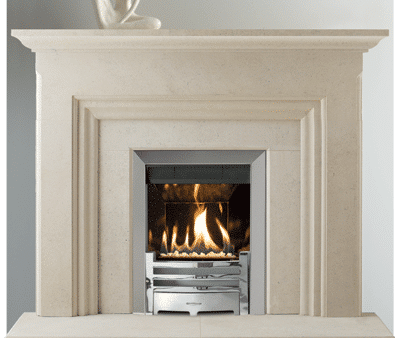 Islay stone fireplace