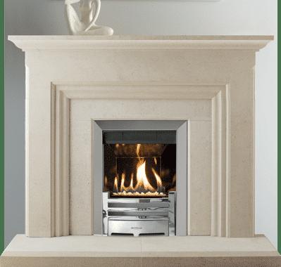 Islay stone fireplace