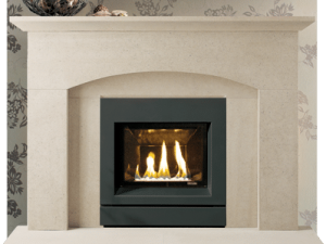 Ludlow stone fireplace