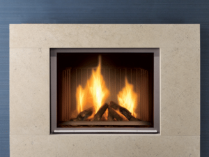 Richmond stone fireplace