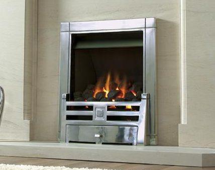 Kinder Caesar - Living Flame Effect Gas Fire-0