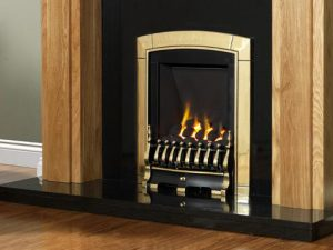 Flavel Caress Slimline - Traditional Gas Fire-0