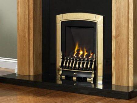 Flavel Caress Slimline - Traditional Gas Fire-0