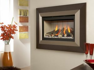 Kinder Cameo HE - Hole in the wall Balanced Flue Gas Fire-0