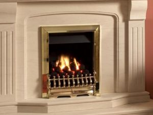 Kinder Oasis - Living Flame Effect Gas Fire-0