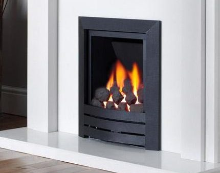 Kinder Black Magic Powerflue - Power Flue Gas Fire-0