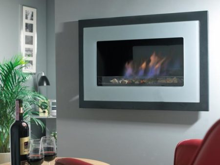 Flavel Pure - Contemporary Wall Mounted Gas Fire-0