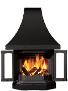 Dovre 2300CB Cast Iron Fireplace-0