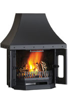 Dovre 2700 Cast Iron Fireplace-0