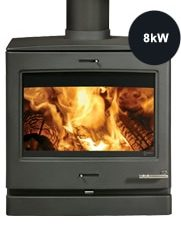 Yeoman CL8 Wood & Multi-fuel Stove-0