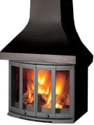 Dovre 2400CB Cast Iron Fireplace-0