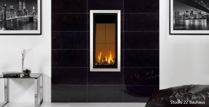 Gazco Studio 22 Bauhaus Gas Fire - Zigis Fireplaces