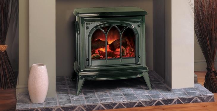 Gazco Ashdon Electric Stove Zigis Fireplaces