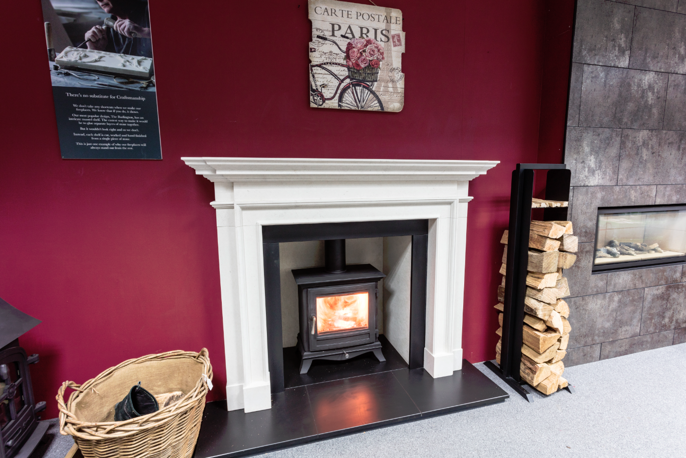 Colchester Showroom Zigis Fireplaces
