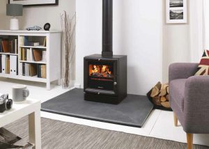worcester greenstyle steel wood burning stove