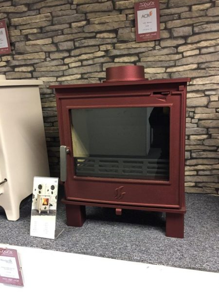 ACR Malvern Red Multifuel Stove Was £925 Now £650