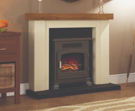 Bracken Timber Fireplace
