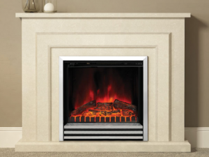 Elgin & Hall Farnham LED Electric Fire & Marble Surround