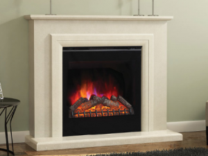 Elgin & Hall Susannah LED Electric Fire (Black)
