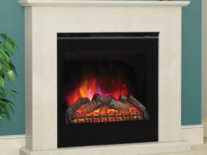 Elgin & Hall Vittoria LED Electric Fire in Black Anthracite