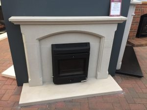 Firecraft Cambridge Sandstone Fireplace Was £1840 Now £1000 (Ipswich Showroom)
