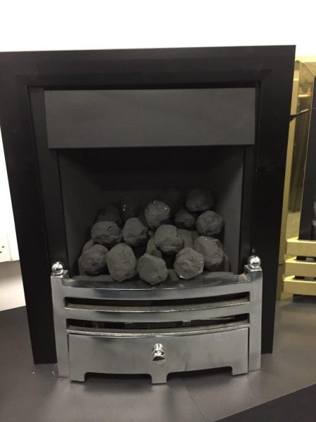 Global Fantasy Plus Slide Control NG Gas Fire Was £ 604.70 Now £ 300