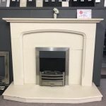 Honed Marfil Fireplace Was £999 Now £500 (Chelmsford Showroom)