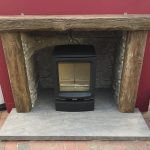 Newmans Beam Fireplace Package Includes Hearths Chamber Lining Was £1710 Now £999 (Ipswich Showroom)