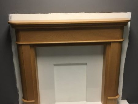 Solid Oak Surround and back panel Now £ 599