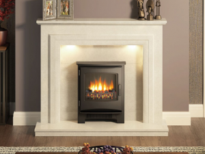 Susannah marble fireplace from Elgin & Hall