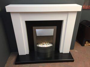 Trent Beaufort Electric Suite (fire not included) Was £468 Now £250 (Ipswich Showroom)