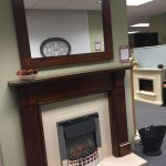 Trent Kingsbury _ Mirror in Cherry with Back Panel _ Hearth Was £ 1266 Now £ 633