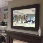 Trent Mirror Brazilian Maple Fireplace Was £ 189 Now £ 100